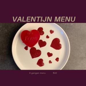 Valentijnsmenu Wollerich