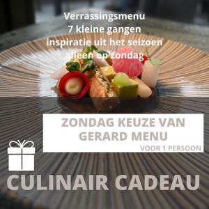 dinercheque restaurant wollerich keuze van gerard